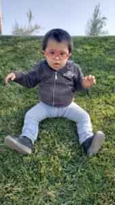 Nicolás en el parque