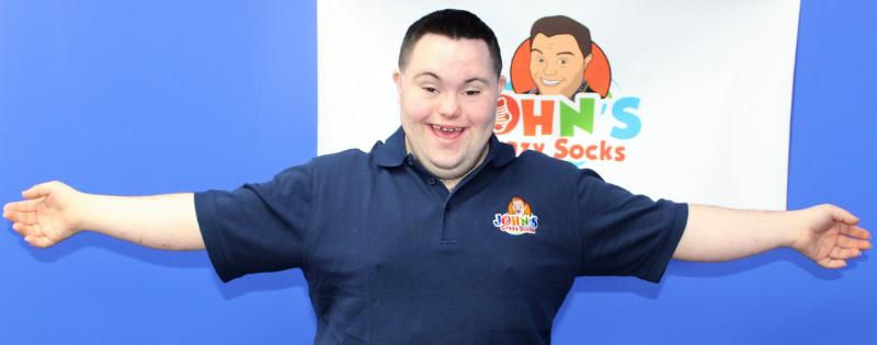 John's crazy socks