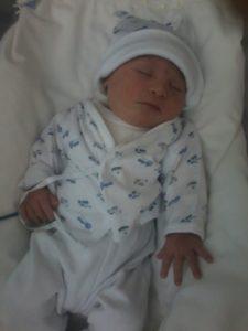 Mateo de bebé