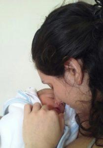 Mateo de recién nacido
