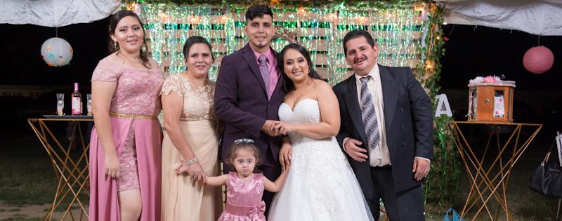 Sabdy con toda su familia
