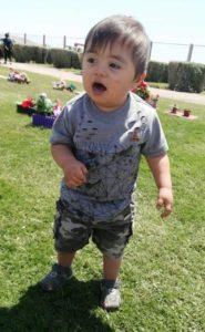 Jorgito en el parque