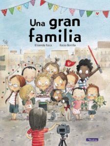 cuento una gran familia que habla sobre diversidad, inclusión